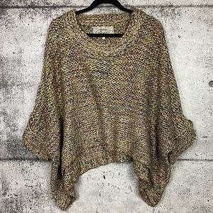 Pink Martini // Slouchy Multicolour Knit Sweater